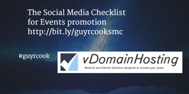 vdomainhosting Social Media Checklist